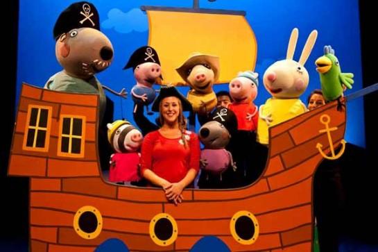 El musical de Peppa Pig 'La búsqueda del tesoro' llegará a Baluarte el 30 de noviembre