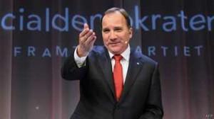 El nuevo primer ministro sueco, Stefan Loefven.