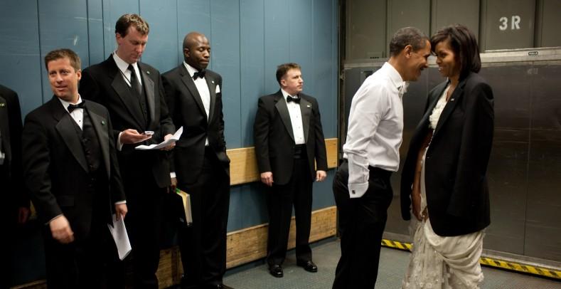 Un fallo hizo que Obama compartiese ascensor con un vigilante de seguridad armado y con antecedentes penales