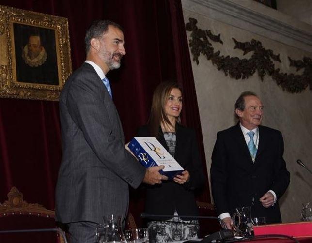 Felipe VI destaca que el consenso y respeto a la diversidad garantiza la unidad del español
