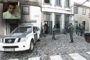 En la parte superior izda, el detenido por el atentado. Foto ECG.