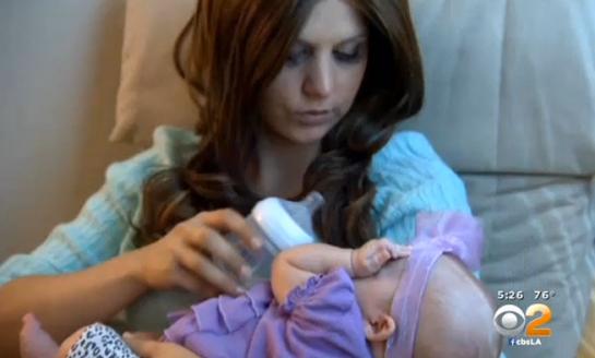 Una joven californiana rechaza el tratamiento contra el cáncer para dar a luz