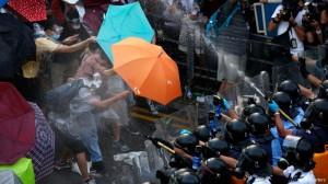 Llamada desobediencia civil en Hong Kong