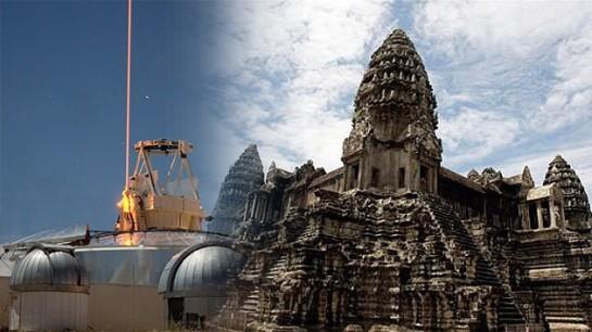 """Hallada en Camboya la """"Atlántida de la jungla"""" gracias a disparos de láser"""