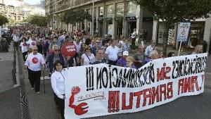 Manifestación Fagor