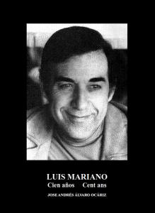 """AGENDA: 15 y 23 de octubre, En Bergel y Conservatorio de Música de Pamplona, Conferencia sobre """"Luis Mariano cien años…"""" de José Andrés Alvaro"""
