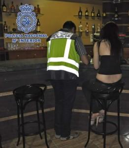 Policia libera joven rumana