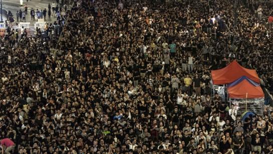 "Hong Kong: ""Ocupy Central"" pide retirarse de Mong Kok tras las amenazas del gobierno"