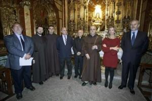 """presentación de la peregrinación mundial """"Camino de luz"""", que pretende unir culturas y caminos a través de la figura de Santa Teresa. EFE"""