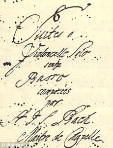 Sra Bach ayudó a su marido a escribir el Cello Suites