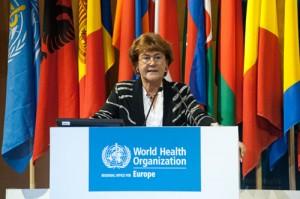 Zsuzsanna Jakab, directora regional para Europa de la Organización Mundial de la Salud.