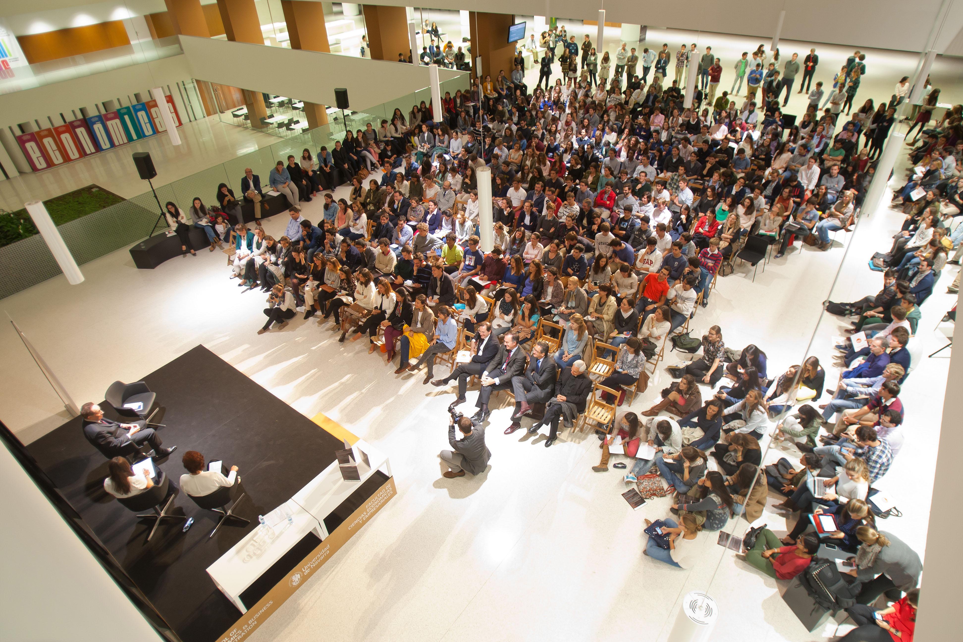 Apertura de Forum 2015 de la Universidad de Navarra