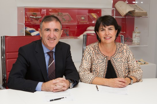 Nafarco y Universidad de Navarra firman convenio de colaboración