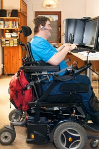 Persona con discapacidad. (Navarra.es).
