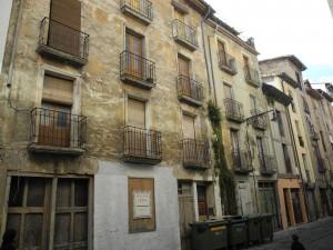 Edificio en la calle Descalzos 47. (pamplonahistorica).