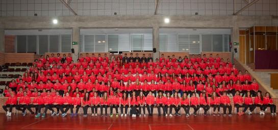 Presentación de los equipos federados de la Universidad de Navarra