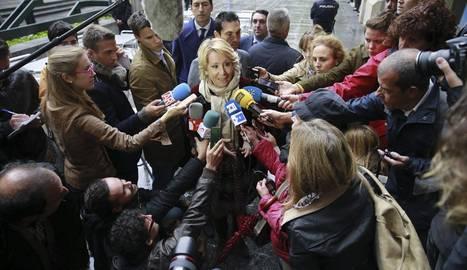 Esperanza Aguirre dice que no pagará a Pablo Iglesias los 100.000 € que le reclama por injurias
