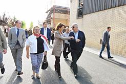 """El Gobierno de Navarra entrega 380.000 euros para """"Las Casitas"""" en Funes"""