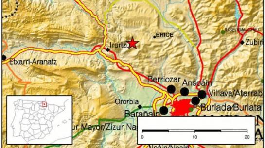 Un terremoto de 3,1 grados en la escala Richter se localiza en Erice