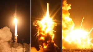 Explota en Virginia (EE.UU.) un cohete con 2.000 kilos de carga para la Estación Espacial Internacional