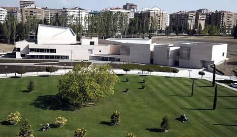 El arquitecto Rafael Moneo presenta el Museo Universidad de Navarra, su obra más abstracta