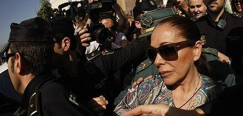 Isabel Pantoja pide que se suspenda su entrada en prisión por blanqueo de dinero