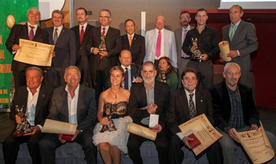 El Ayuntamiento de Pamplona, premiado como mejor institución en la XII Gala Nacional de Pelota