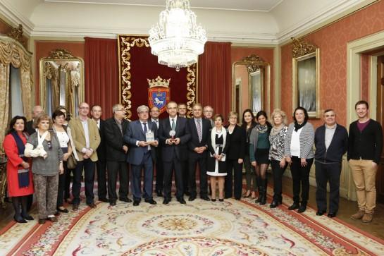 Maya recibe a la Federación de Casas Regionales en Navarra que celebra su XXVI Semana Cultural