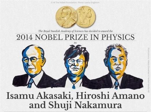 Isamu Akasaki, Hiroshi Amano y Shuji Nakamura ganan el Nobel de Física