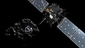 """""""Philae"""" hace historia al posarse sobre un cometa"""