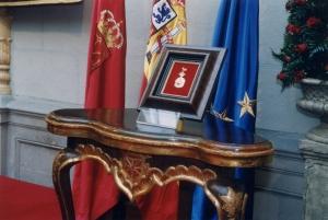 Medalla de oro de Navarra.
