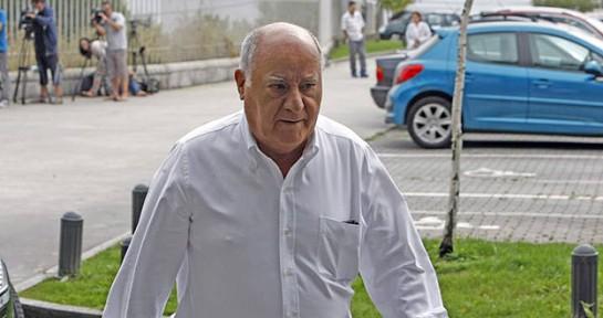 Amancio Ortega, Rafael del Pino y hermanos, y Juan Roig, las mayores fortunas de España, según Forbes