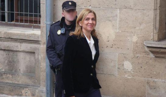 La infanta Cristina, imputada por fraude y no por blanqueo en el caso Nóos