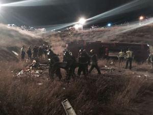 Doce los fallecidos al salirse un autobús de la carretera en Cieza (Murcia)