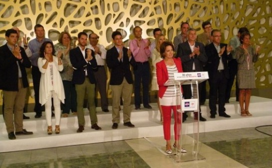 Barcina confirma que irá en la lista de UPN al Parlamento
