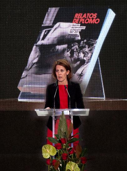 """La Presidenta Barcina resalta que las víctimas del terrorismo son """"los héroes de nuestra democracia"""""""
