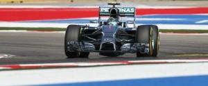 Rosberg en su monoplaza en las pruebas calificatorias