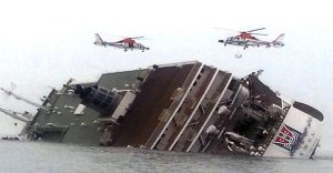 El Ferry coreano.
