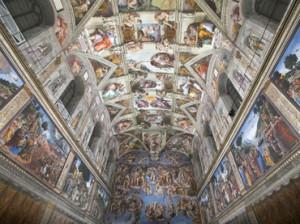 Frescos de la Capilla Sixtina están blanqueándose