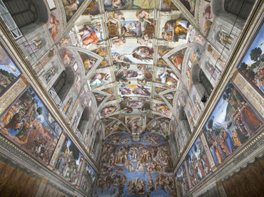 Revelan que frescos de la Capilla Sixtina están blanqueándose
