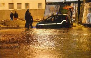 Las fuertes lluvias dejan cinco muertos en Francia y uno en Italia