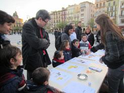 Experimentos y talleres en la Semana de la Ciencia en Pamplona