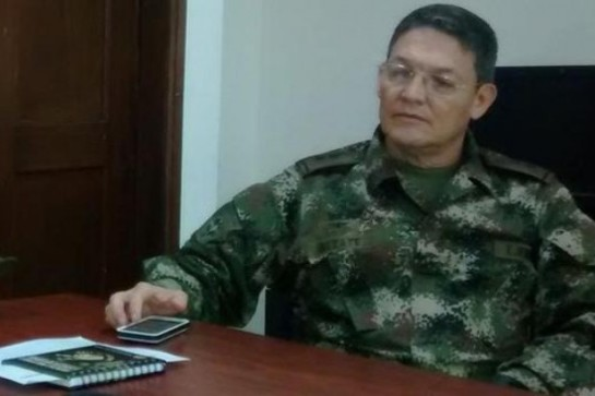 Las FARC dejan en libertad al general Alzate y a sus dos acompañantes