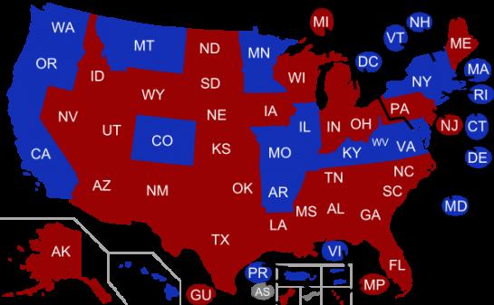 EEUU celebra elecciones en 39 estados