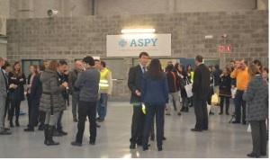 Inauguración de Aspy en noain. Foto: Aspy