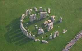 Stonehenge. Vista área