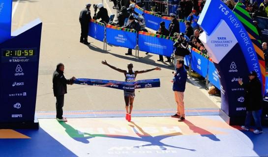 El keniano Kipsang gana en Nueva York y se lleva las Series Mundiales