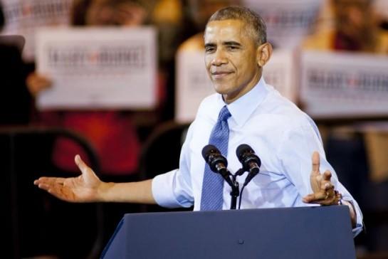 Obama asiste a su última campaña como presidente ante unas elecciones legislativas con lagunas