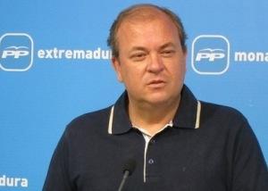 El presidente de Extremadura, el popular José Antonio Monago.