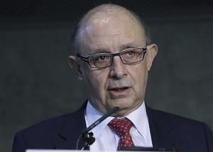 El ministro de Hacienda, Cristobal Montoro. (EFE).
